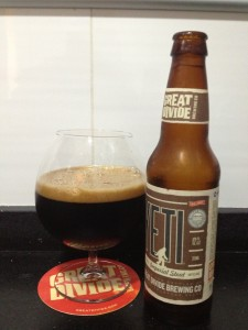 Yeti Great divide imperial stout