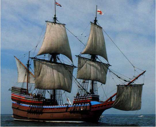 Mayflower.