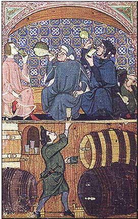 Taberna medieval.